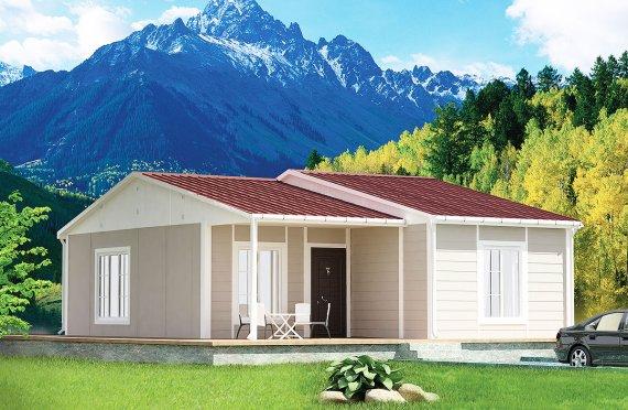 Modulové domy 61 m²