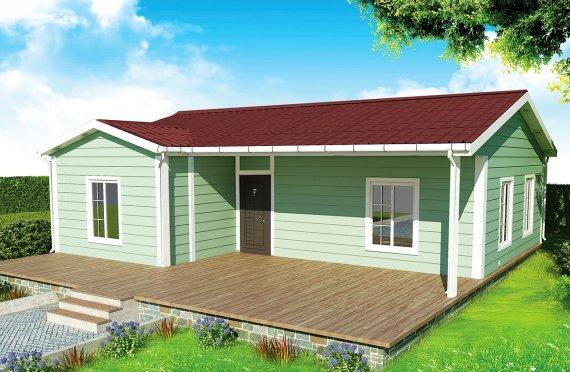 Modulové domy 86 m²