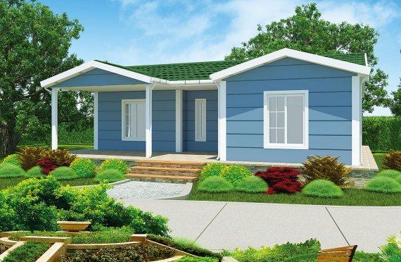 Modulové domy 87 m²