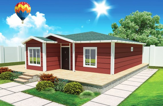 Modulové domy 96 m²
