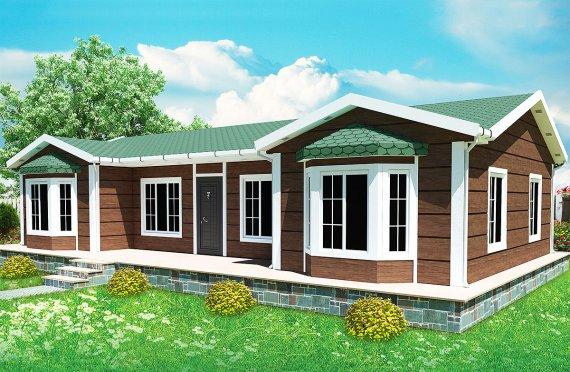 Modulové domy 97 m²