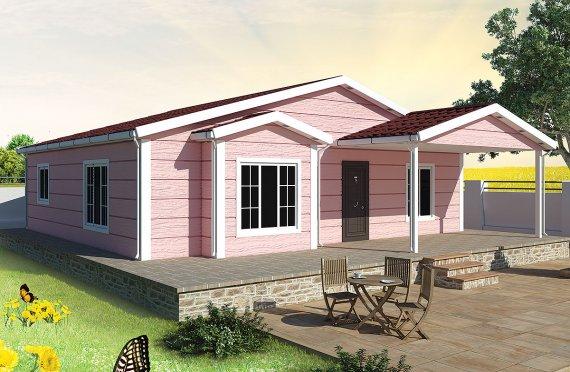 Modulové domy - 105 m²
