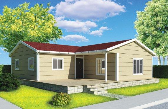 Modulové domy - 107 m²