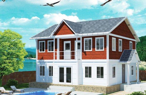 Prefabrikovaný dům 125 m²
