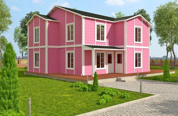 Prefabrikovaný dům 147 m²