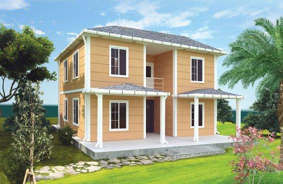 Prefabrikovaný dům 148 m²