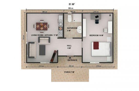 Prodej montovaného domu