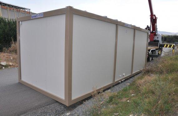 repasované kontejnery