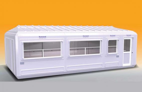 Prodejní Stánek 390x750 cm