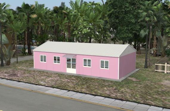 Modulární kancelářská budova 98 m²