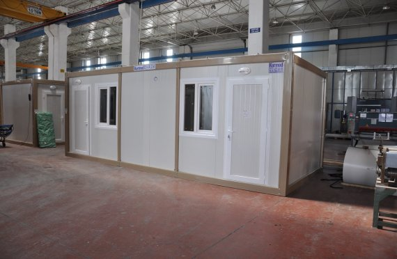 stavební buňka za odvoz bazar