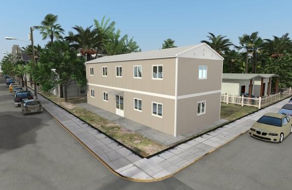 Modulární kancelářská budova 214 m²