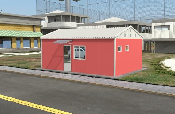 Modulární kancelářská budova 40 m²