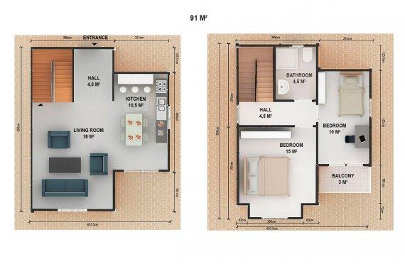 Zařízene modulove domy