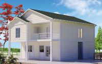 130 m² Prefabricated House