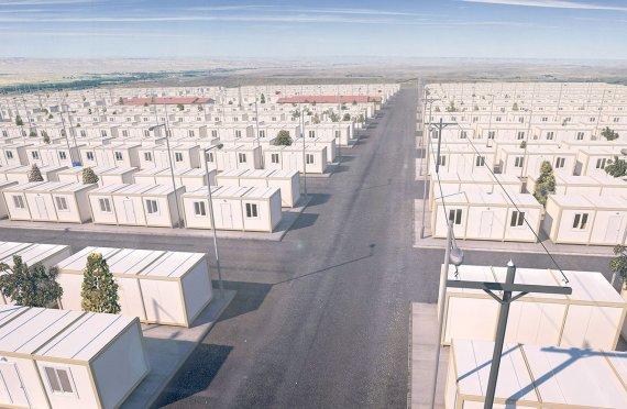 Dočasné uprchlické tábory