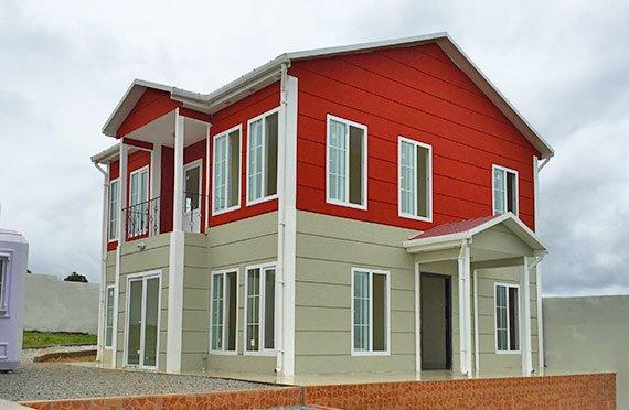 Dvoupodlažní modulární domy