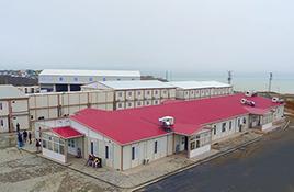 Vláknité cementové modulární budovy