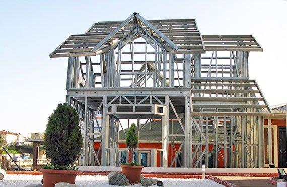 Ocelová Konstrukce Domu