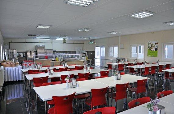 Montované jídelně Budovy