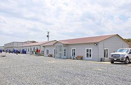 Prefabrikované vojenské budovy