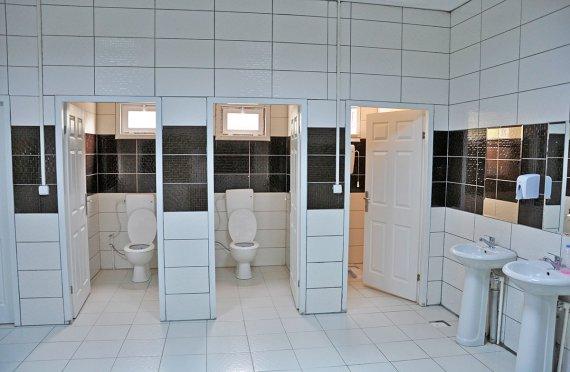 Montované WC a Sprcha