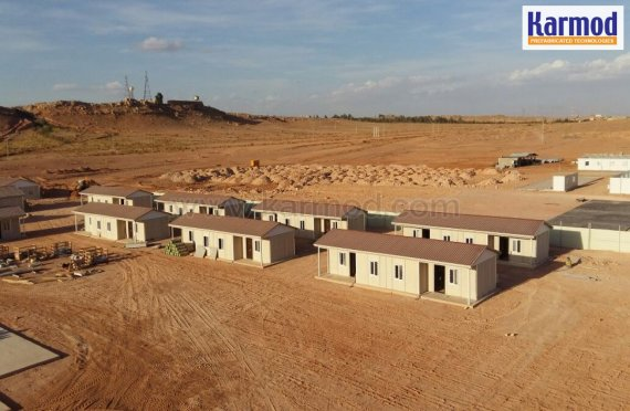 Alžírsko prefabrikovaný levný a cenově dostupný bytový projekt