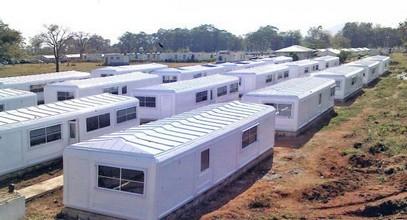 Karmodské kempy v Nigérii pro mírových jednotek OSN