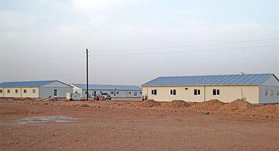 Alžírsko Prefabrikovaný stavební komplex