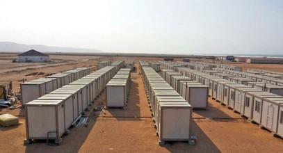 Založili jsme stavby pro pracovníky na výrobu zlata v Guineji