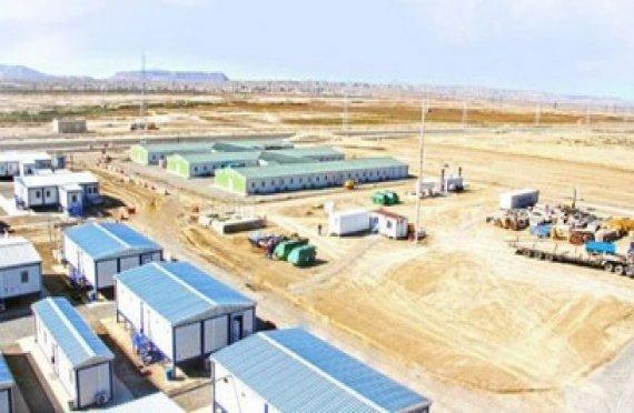 Montované stavby pro projekt Shah Deniz-2 v Ázerbájdžánu