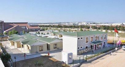 Zdravotnická rehabilitační budova firmy Karmod