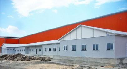 Byla dokončena projekt prefabrikovaných pracovišť pro společnost Ufuk Boru