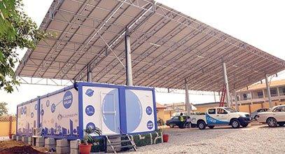 Kontejner nové generace společnosti Karmod se používá pro skladování sluneční energie v Nigérii