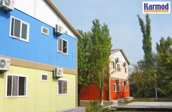 Projekt na Ukrajině rekreační vesnice