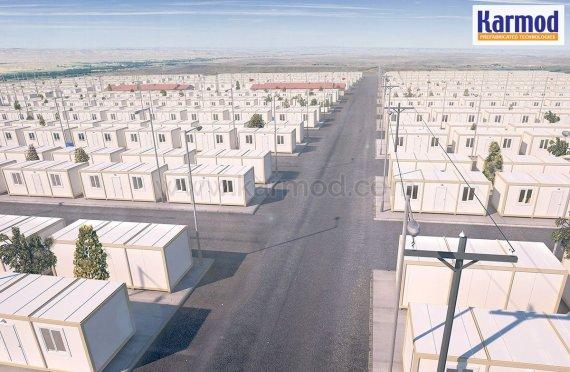 Kontejnerový projekt pro syrské uprchlíky