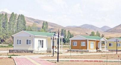 Projekt montované rekreační vesnice
