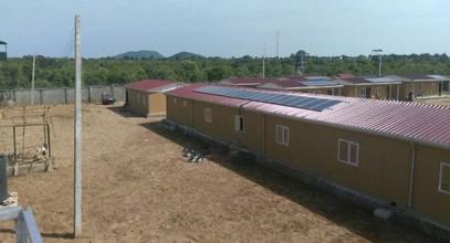 Karmod dokončil vojenské zařízení v Nigérii