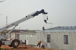 Prefabrikovaná stavba důlních děl v Senegalu