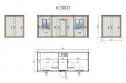 kancelářský kontejner ikea