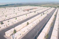Kontejnerový městský uprchlický tábor