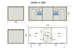 stavební buňky a kontejnery